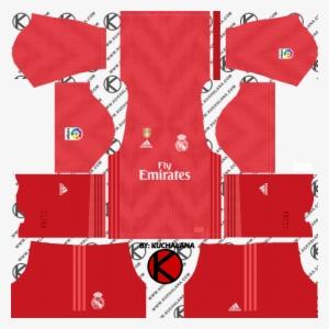 fad5a86ad91 Real Madrid 2018 19 Kit - Dream League Soccer 2018 Kit Manu PNG ...