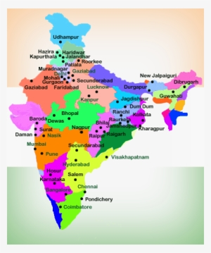 Location Of Ranchi In India Map.India Map Image Png Images Png Cliparts Free Download On Seekpng