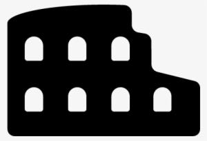 Roman Colosseum Vector Coliseo Romano Icono Png Png Image