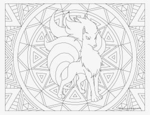 The Best Cute Vulpix Coloring Page