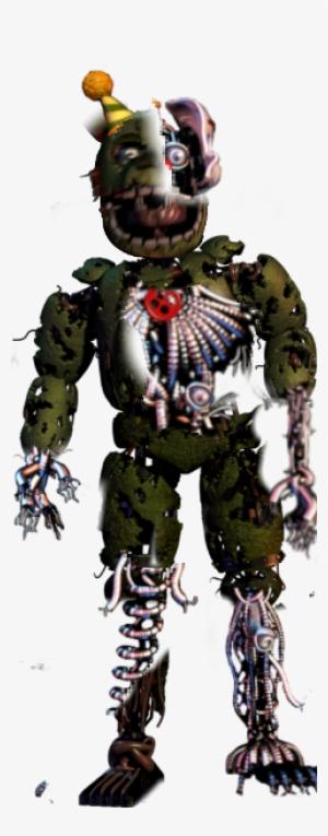Springtrap Endoskeleton Png Image Transparent Png Free Download On Seekpng