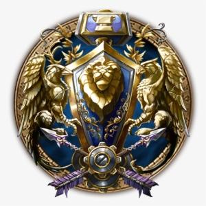 World Of Warcraft Alliance Logo Png Png Image Transparent Png Free