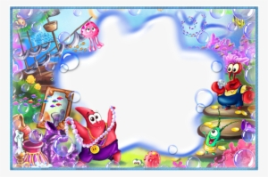 Abstract Sea And Sky Picture Frame Png Image Transparent Png
