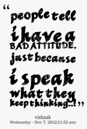 Cool Attitude Quotes Png Hd Images Wallpaper For Downloads Have