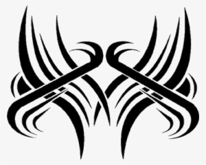 Tribal Cross Tattoo Design Cross Tattoos Png Png Image