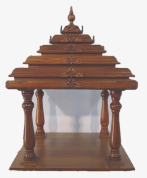 Puja Mandir Wooden Temples Mini Temple Design For Home Png Image