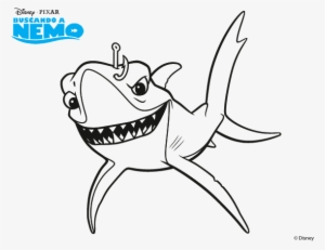 Finding Nemo Characters Png - Gill From Finding Nemo PNG ...