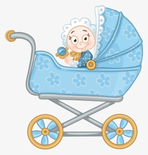 Gold Clipart Baby Carriage Baby Stroller Coloring Page