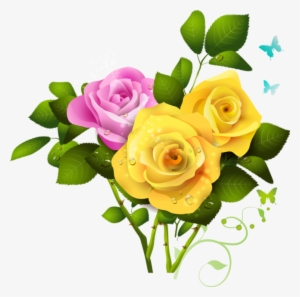 Picture Frames Yellow Rose Flower Clip Art - Yellow Rose Transparent  Background - Free Transparent PNG Clipart Images Download