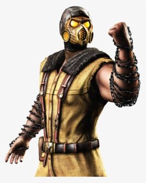 Mkx Scorpion Png Mortal Kombat Scorpion Png Png Image