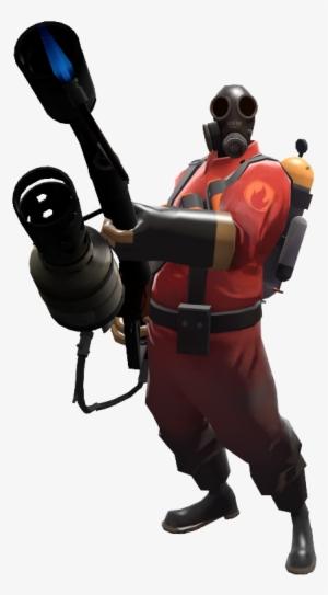 Pyro Team Fortress 2 Pyro Render Png Image Transparent Png Free