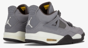 bfe34d741a7aa Cheap Air Jordan Iv Retro 4 X Kaws Cool Grey 930155-003 - Shoe. PNG