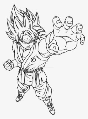 Ssgss Goku Kaioken Color Page Goku Ssgss Kaioken Times ...