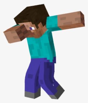 Png Minecraft Steve Dabbing Png Image Transparent Png Free