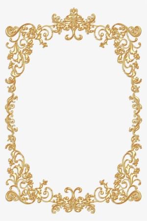 Vintage Gold Frame Png PNG Images | PNG Cliparts Free