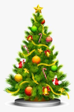 Christmas Tree Vector Png Images Png Cliparts Free Download On Seekpng