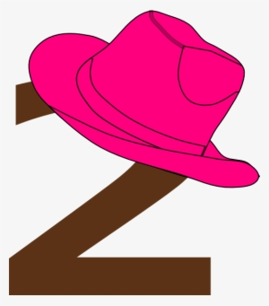 7e5fee302eb Cowboy Hat Clipart Sombrero - Cowgirl Number 2 Png