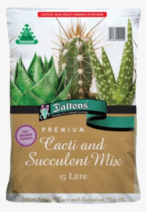 Daltons Premium Cacti And Succulent Mix Cactus Png Image Transparent Png Free Download On Seekpng