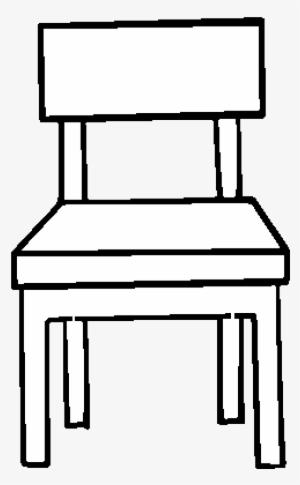 Dibujo De Una Silla De Comedor Para Colorear Coloriage Chaise Png
