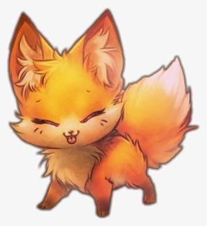 Kawaii Cute Fox Drawing Png Image Transparent Png Free Download