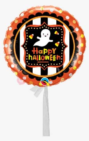 158f19438 Halloween Ghost & Candy Corn-single Balloon - Halloween Foil Balloon - Ghost  & Candy
