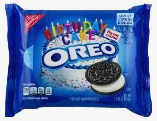 Nabisco Oreo Chocolate Sandwich Cookies Birthday Cake