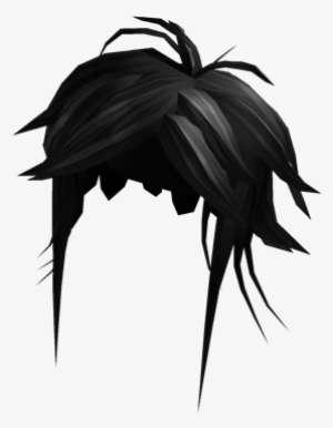 Black Manga Hero Hair Roblox Manga Hero Hair Png Image Transparent Png Free Download On Seekpng