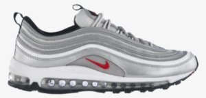 promo code 8bad2 ac27c Metallic Silver varsity Red Black Release Date - Nike Air Max 97 Premium  Cool Grey. PNG