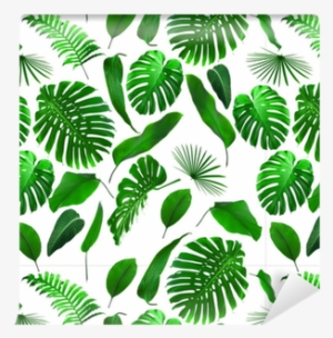 Seamless Tropical Leaves Pattern Wallpaper Pixers We Free Jungle Leaves Png Image Transparent Png Free Download On Seekpng Tropical rainforest leaf jungle, jungle leaf png. seamless tropical leaves pattern