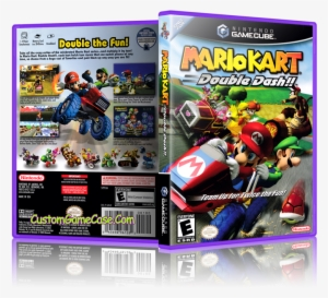 Mario Kart Double Dash Front Cover Mario Kart Double Dash Png Image Transparent Png Free Download On Seekpng