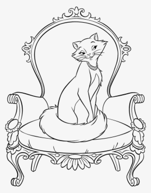 Cartoon And Superheroes Coloring Pages Disney The Aristocats Aristocats Coloring Pages Png Image Transparent Png Free Download On Seekpng