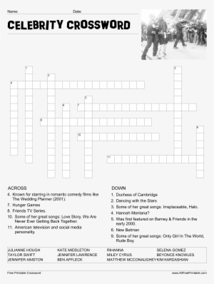 graphic relating to Celebrity Crossword Printable identified as The-telegraph - Telegraph Cryptic Crosswords 1 (the