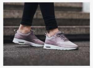 Womens Nike Air Max Thea Purple PNG Image  ed49b605b302