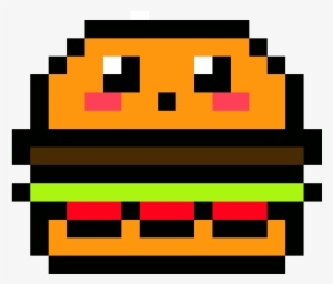 Kawaii Pixel Art Grid