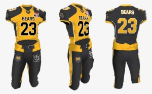 3d Design By Whiscoke For Slaughter Rule Llc American Football Jersey Black And Yellow Designs Png Image Transparent Png Free Download On Seekpng