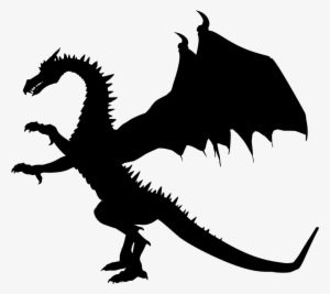 Dragon Silhouette Png Images Png Cliparts Free Download On Seekpng