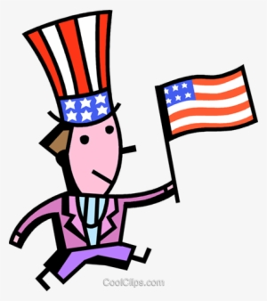 Uncle Sam With American Flag Royalty Free Vector Clip Flag Of The United States Png Image Transparent Png Free Download On Seekpng