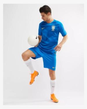 2018 World Cup Brazil Away Jersey Shirt - Brazil 2018 World Cup Kit. PNG 0fa71486d