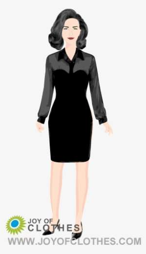 Dita Von Teese Low Cut Black Dress Dita Von Teese 3d Print Png