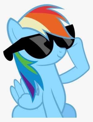 c983312f4c With It Glasses Png Deal Deal With It Glasses Png - Rainbow Dash With  Sunglasses