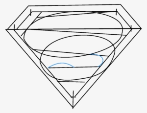 How To Draw Superman Logo Drawing Png Image Transparent Png Free
