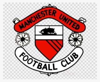 Man U Old Badge Clipart Manchester United F Manchester United Fc Logo History Png Image Transparent Png Free Download On Seekpng