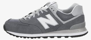 the latest 00cf0 efb46 New Balance 574 - New Balance 574 Grey   White Men s Shoes. PNG