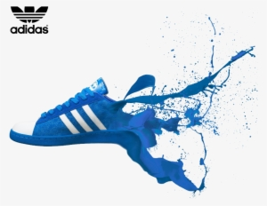 71cf7d5225d4d2 Shoe Adidas Sneakers Boot Football Dispersion Blue - Adidas Shoe Poster. PNG