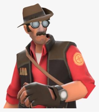 Tf2 Sniper Team Fortress 2 Sniper Costume Png Image Transparent