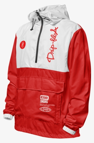 Drip Fila Windbreaker Jacket Windbreaker Png Image Transparent Png Free Download On Seekpng