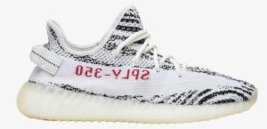 2ab259331 Yeezy Boost V Zebra Adidas Cp White - Yeezy Boost 350 V2 Zebra · PNG