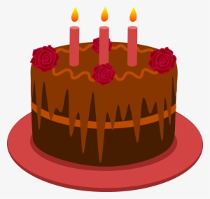 Chocolate Birthday Cake PNG Images | PNG Cliparts Free Download on