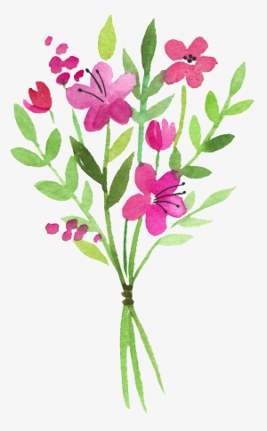 Watercolor Flowers Png Images Png Cliparts Free Download On Seekpng