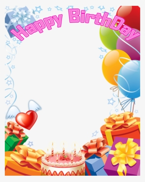 Happy Birthday Frames And Borders Png Images Png Cliparts Free